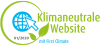 Klimaneutrale Website Logo